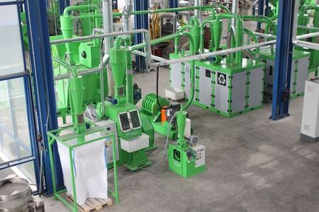 Guidetti линия по переработке алюминиевых банок